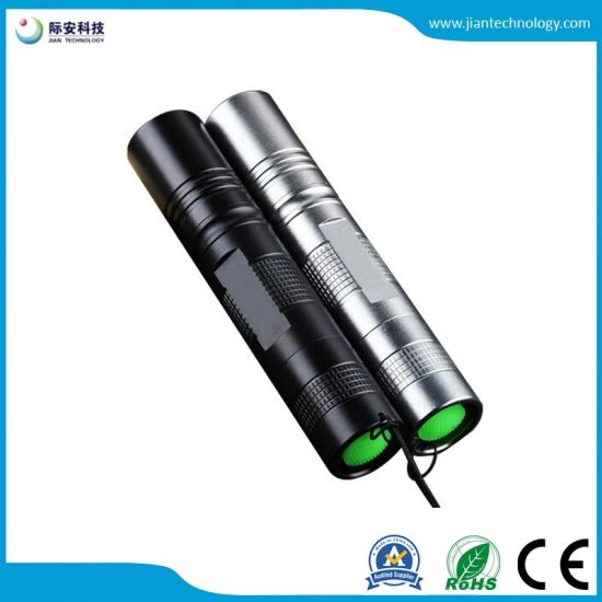 3W Rechargeable 365nm Detective LED UV Flashlight