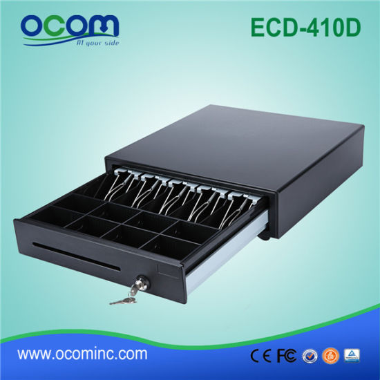 High Quality 24V Metal Cash Drawer (ECD410D) pictures & photos