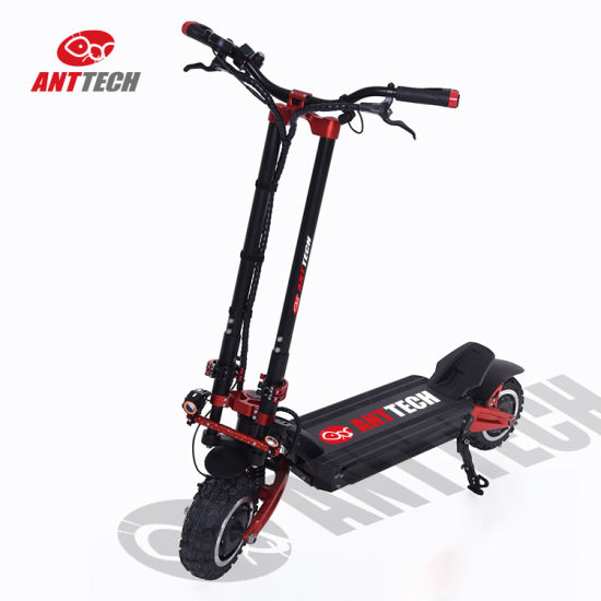 3200W Foldable Powerful Electric Kick Scooter X11 with 72V 32ah Battery