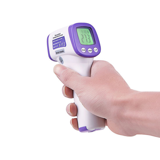 Prevent Virus Non Contact Medical Infrared Forehead Fever Thermometer