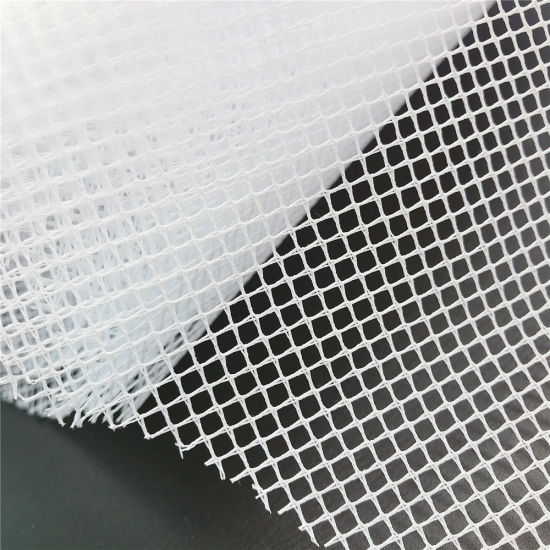 100% Polyester Stiff Tulle Mesh Fabric Hard Net for Holding up The Wedding Dress