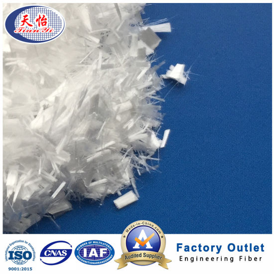 Anti Crack 6mm Micro Chopped Synthetic PP Fibre Building Material pictures & photos