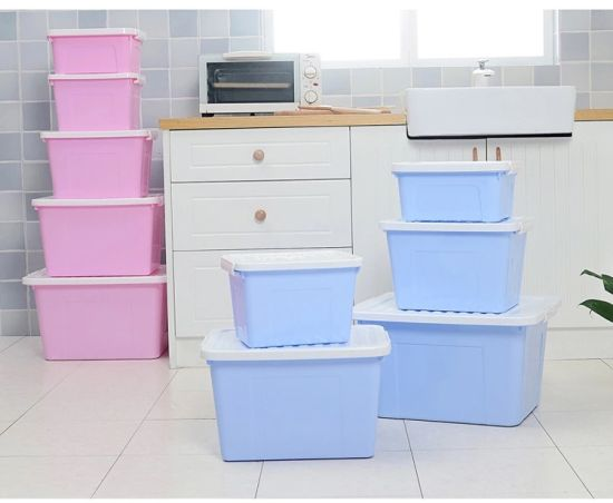 Wholesale Top Quality Multi-Functional Various Size Plastic Storage Box, Handheld pictures & photos