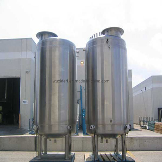 Sanitary Stainless Steel Storage Tank for Chemical Industry