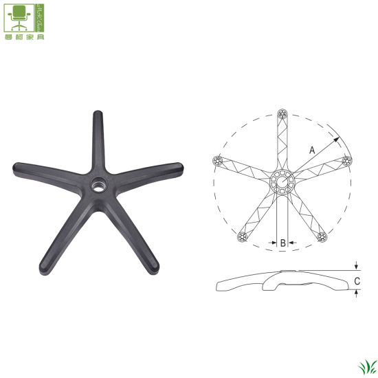 China Heavy Duty Office Chair Base For Swivel Lift Office Chair Parts China Spare Parts Chair Components