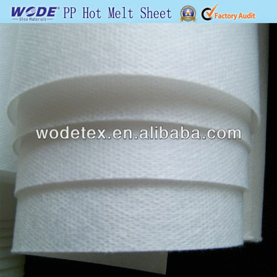 New Termo Popular Ping Pong Hot Melt Sheet with Good Quality for Shoe Linings