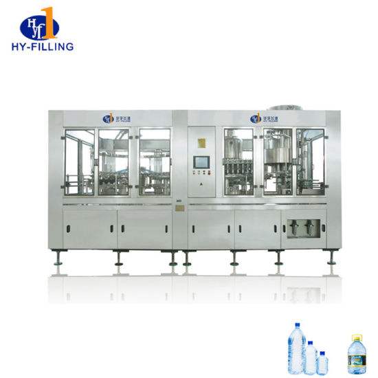 3 in 1 Drinking Pure Mineral Water Bottle Filling Machine Price for Plant Line pictures & photos