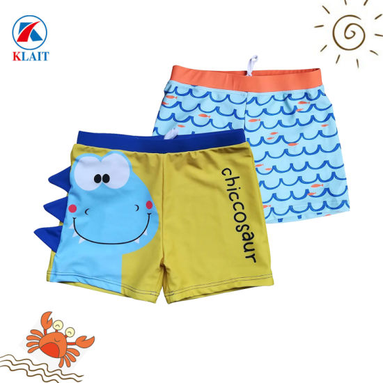 36fbd505d65 China Customizable Color Options Baby Boys Beachwear Swimming Trunks ...