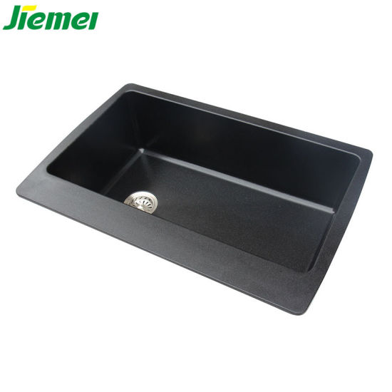 China Best Price Quality Brown Granite Kitchen Sink for Wash ...