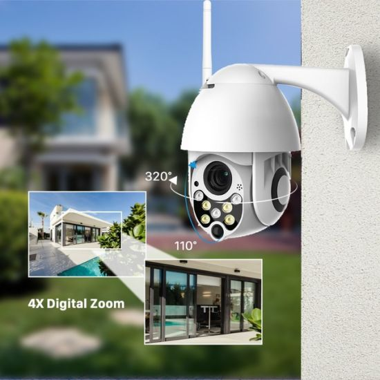 Installing Security Cameras Outside Home on