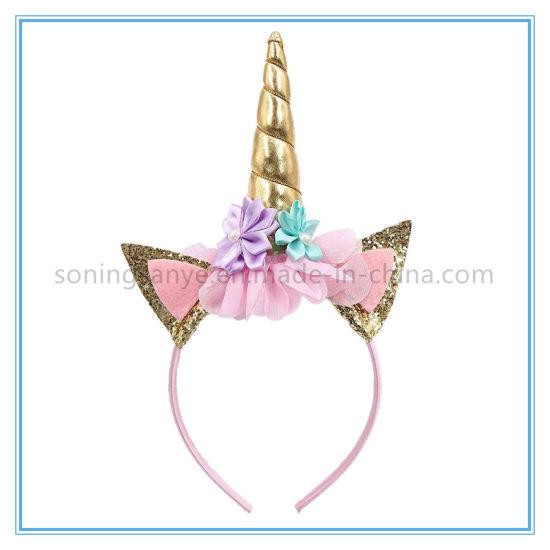 Unicorn Birthday Party Headband