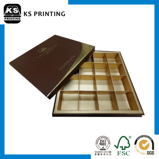 Custom Handmade Paper Cardboard Chocolate Packaging Paper Box pictures & photos