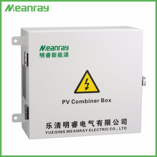 Combiner Box for Solar Array 6 Strings Junction Box with SPD Waterproof PV Combiner Box