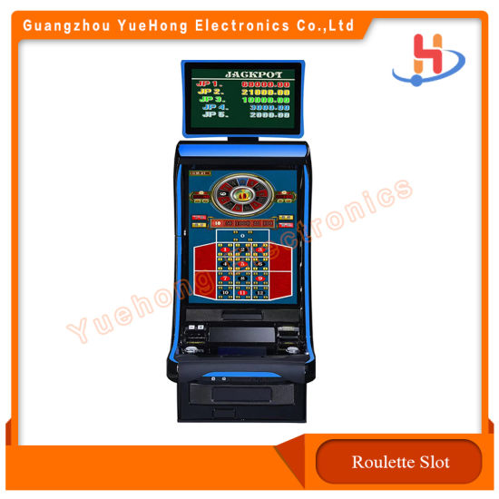 Coin Operated Roulette Slot Game Machine