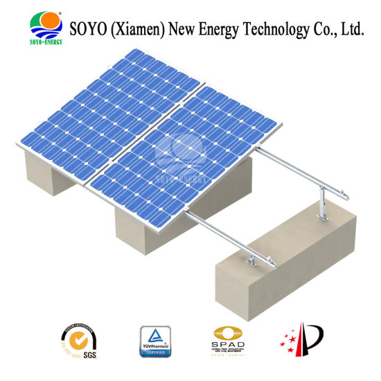 Soyo Energy Adjustable Angle Aluminum Alloy Solar Mounting (AL6005-T5) pictures & photos