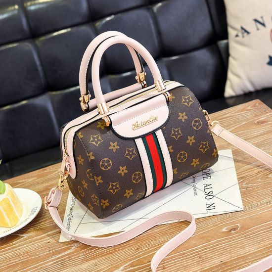 be25d0a50916 2019 New Arrival Designer Ladies Shoulder Tote Bag European Style PU  Leather Women Handbag