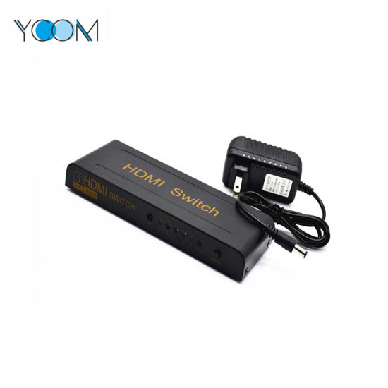 YCOM 5 Port 1080P Video HDMI Switch Switcher for HDTV