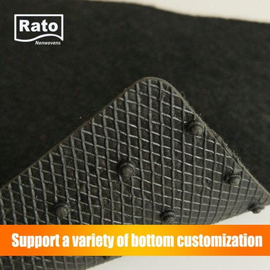 Factory Price Best Sale Anti Skid Plain Car Floor Carpet