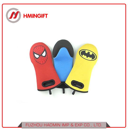 Superman Waterproof Neoprene Carton Oven Gloves