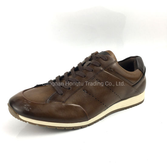 Sneakers Outdoor Leather Casual Athletic Men Shoes