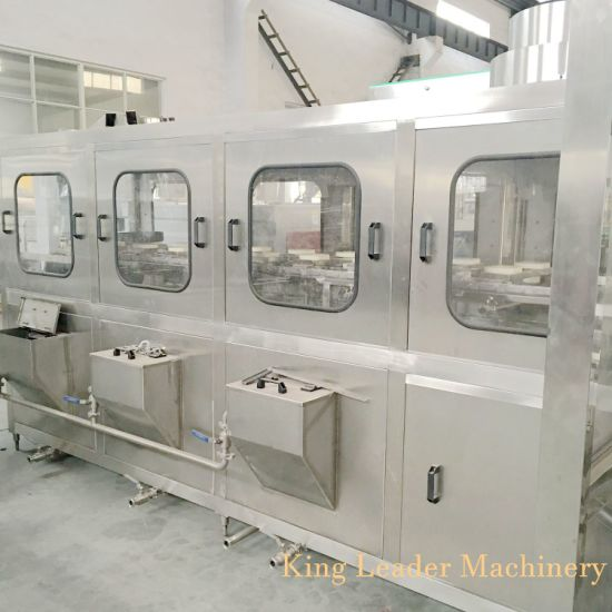 Full Automatic Barrel Bottle Water Filling and Packing Machine Line