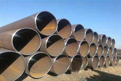 LSAW 42 Inch Schedule 80 Large Diameter Steel Pipe Price