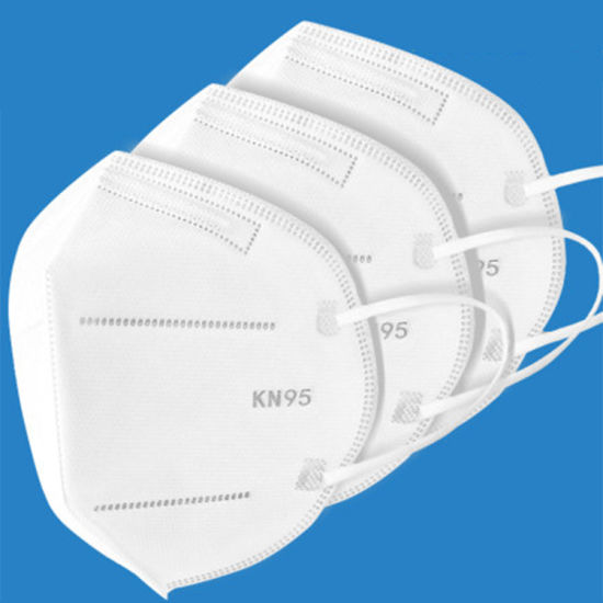 Disposable N95 Mask Face Dust Masks Pm2.5 Fog Prevent Face Mask