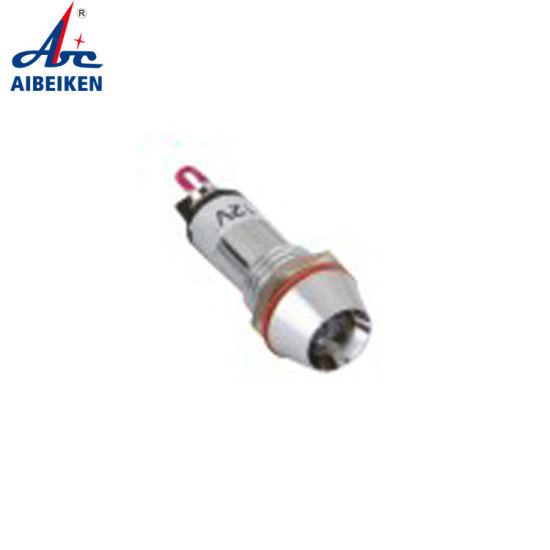 Factory Price Indicator Light LED Plastic 10mm 12V/24V/36V/110V/220V Green LED Single Light Indicator Motorcycle