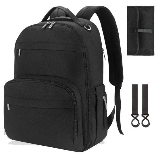 Large Capacity Wholesales Customized Travel Mummy Shoulder Diaper Backpack