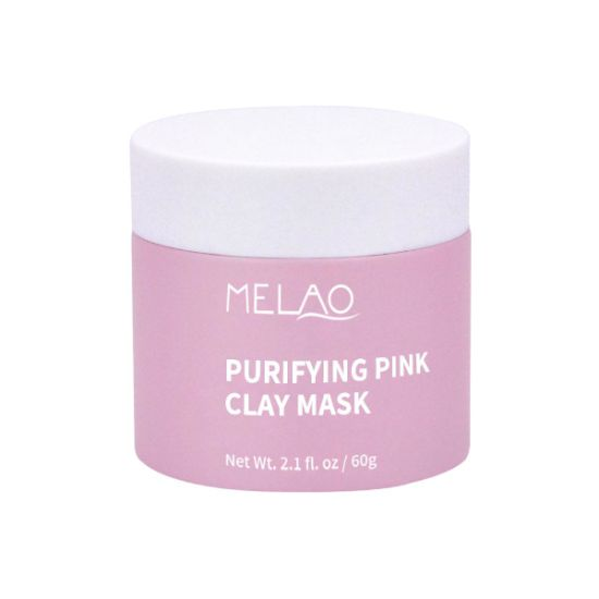 OEM Organic Pink Facial Clay Mud Mask for Face