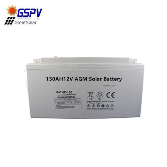 Good Quality 12V150ah Solar Battery Hot Sale in Africa Market