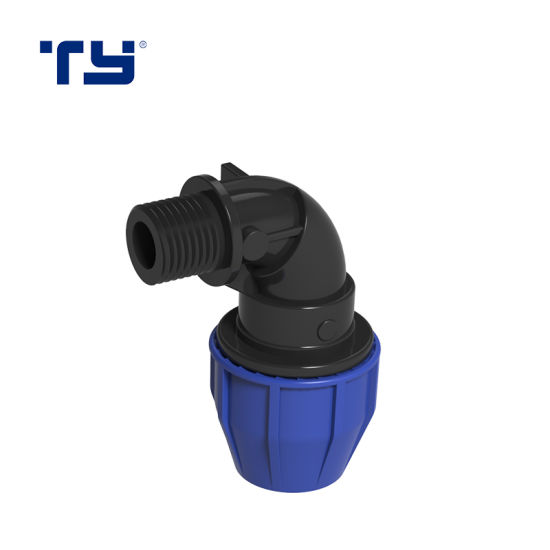 Best Quality PP Plastic Pipe Irigation Compression Joint Fitting ISO14236 BS