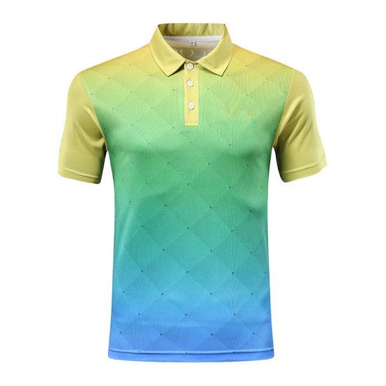 Wholesale Cheap Sportswear Plain Sublimation Customized Logo Man Polo Shirt
