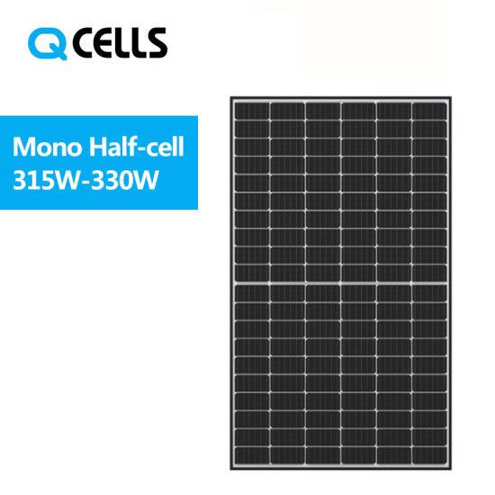 Hanwha Q Cells Solar 6bb Half-Cell Technology Mono Solar Panel 315W 320W 325W 330W