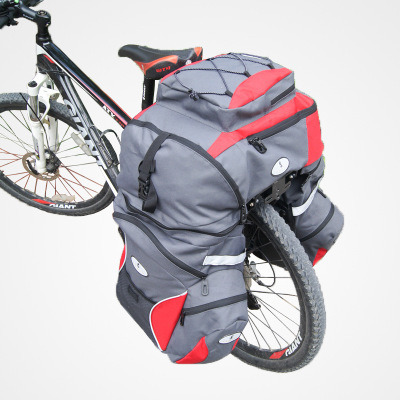Three-in-One Bike Pannier Bag