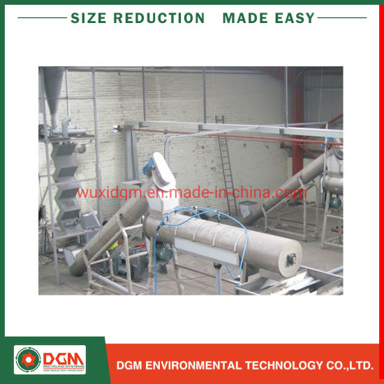 Waste PP HDPE Milk Bottle Drum Barrel Scrap Flakes Recycling Crushing Drying Production Plastic Washing Line