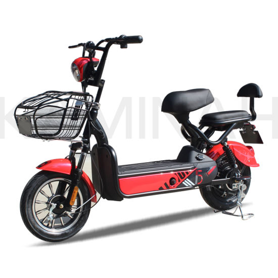 Electric Power Vehicle E-Bike Electric Scooter 350W 48V Electric Motorcycle Ks pictures & photos