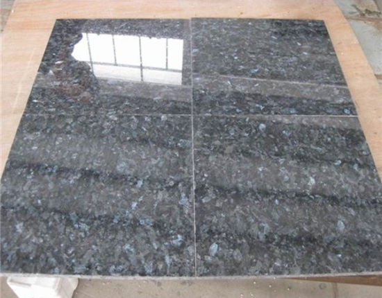 China Natural Stone Black Blue Grey Polished Honed Flamed Brushed Blue Pearl Granite For Floor Wall Outdoor Slabs Tiles Countertops Stairs Sills Column Pavers China Polished Surface Honed Surface