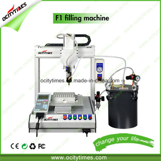 Ocitytimes F1 Cbd Oil Cartridge Filling Machine