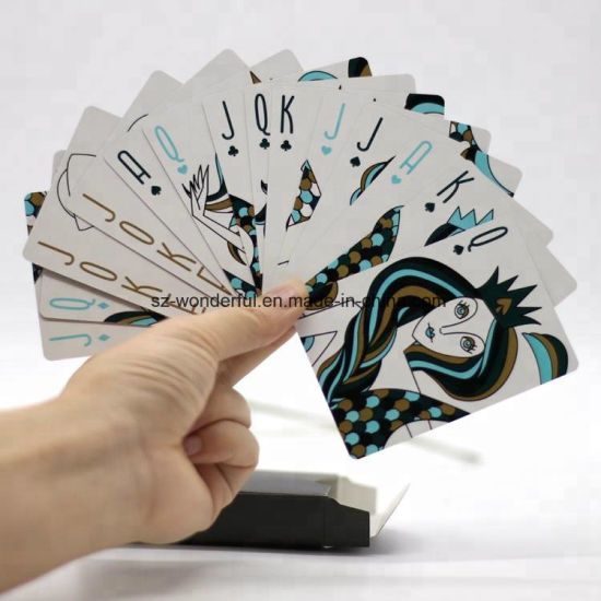 High Quality Custom Wholesale Gambling Playing Cards Poker for Casino