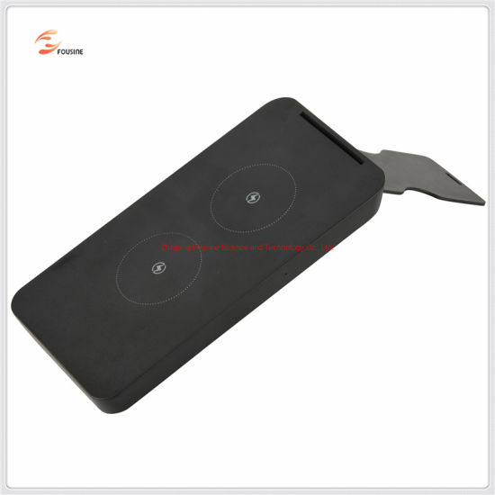 Qi Wireless Charger 10W Fast Charger with Iron Magnet Holder pictures & photos