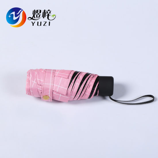 Travel Portable Super Mini 5 Folding Umbrella Pocket Sun Umbrella Gift Umbrella