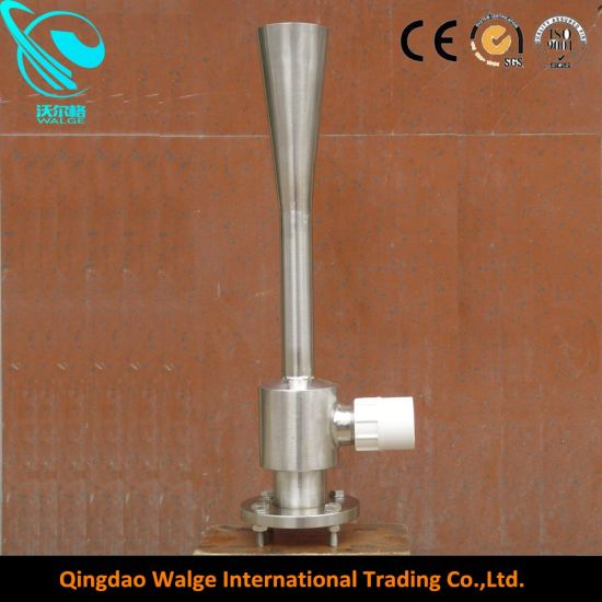 Waste Water Aerate Pipe with Stainless Steel Flange