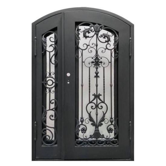 Custom Hot-DIP Galvanized Wrought Iron Doors