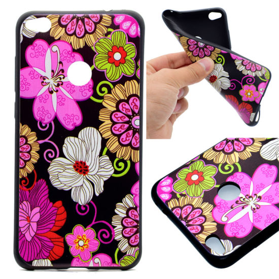 Special Design Glossy UV Coating Custom Print Embossed Cell Phone Case for Apple iPhone 6s pictures & photos