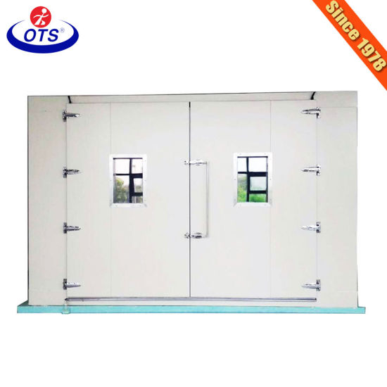 Walk in Temperature Humidity Environmental Testing Climate Chamber