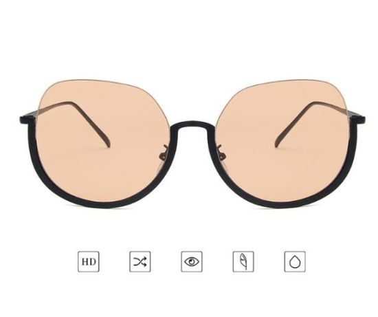 2019 Sunglasses Half Frame UV400 Protective Mirrored Custom Glasses pictures & photos