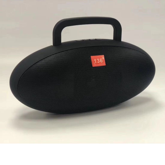 Outdoor Exercise Handheld Essential Rechargeable Battery Portable Bluetooth Speaker 136 with FM Radio