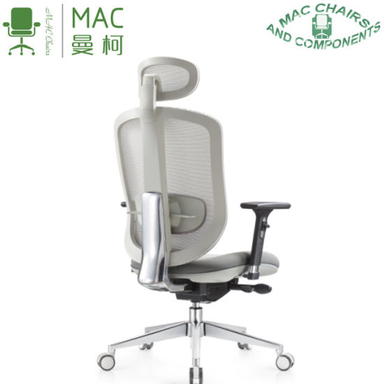 China 2019 New Design Comfortable High Class Gray Ergonomic Office Chair China Reclining Office Chair Office Chairs