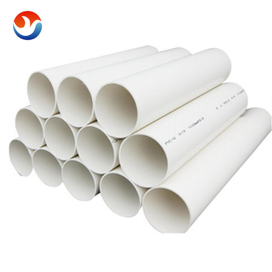 High Pressure Large Diameter Plastic CPVC UPVC PVC Water Supply Pipe with Factory Price